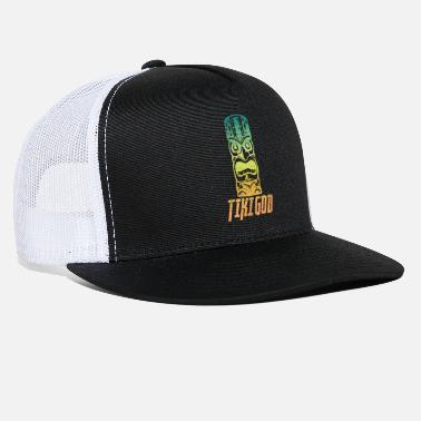 Tiki Tiki God - Trucker Cap