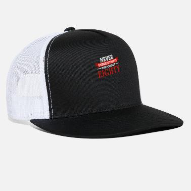 Slogan 80th Birthday Present Funny Saying - Trucker Cap