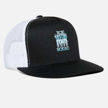 Water Skiing Ice skating Squad - Trucker Cap