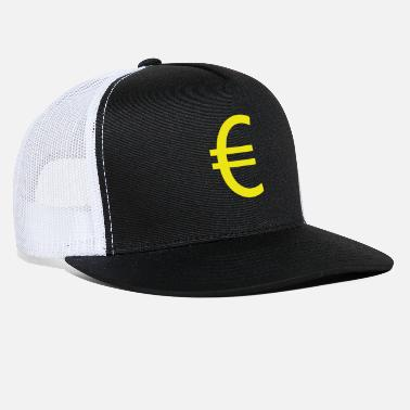 Euro €, euro, euro sign, currency - Trucker Cap