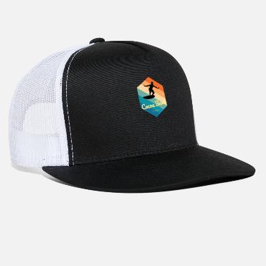 Five Cocoa Beach Florida Surfing tshirt - Trucker Cap