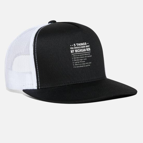 online retailer 9fb65 1d222 Michigan Caps - 5 things you should know about my michigan mom she -  Trucker Cap