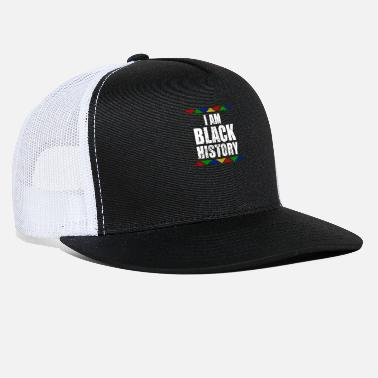 African American College I Am Black History Month design Black Pride - Trucker Cap