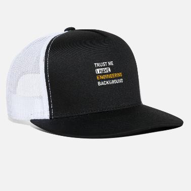Mechanical Engineering Funny Quotes Funny Engineer Quote - Trucker Cap