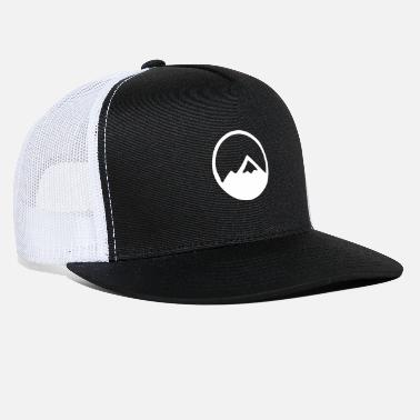Logo Simple Mountain Logo - Trucker Cap