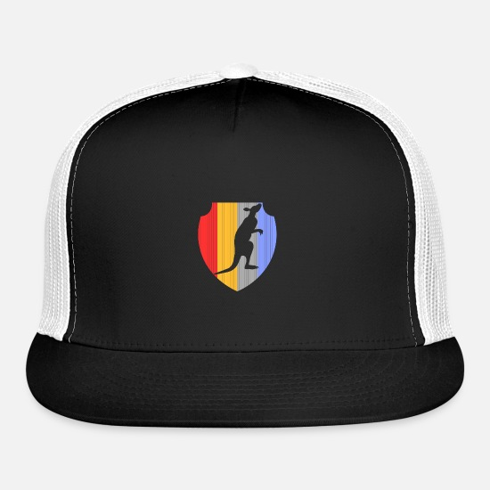 Koala Caps - Kangaroo - Trucker Cap black/white