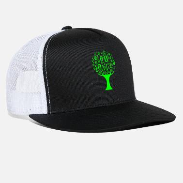 Computer Binary Tree Computer Science Student Coding Web - Trucker Cap