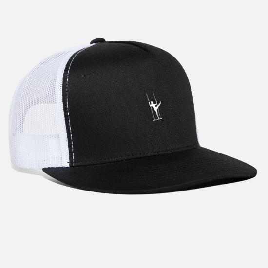 Gift Idea Caps - Circus Performer - Trucker Cap black/white