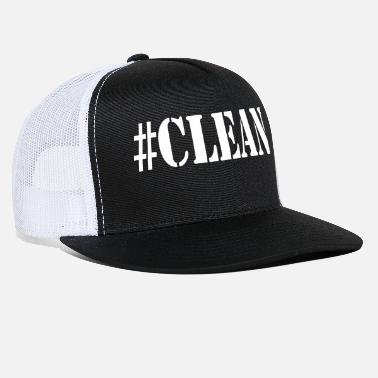Cleaning Lady #CLEAN - Trucker Cap