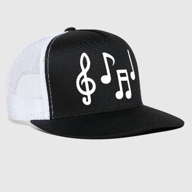 Musical Notes - Trucker Cap