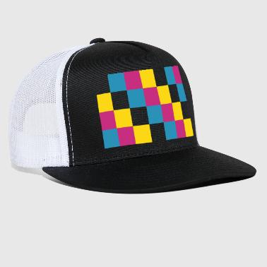 CMYK Color Squares - Trucker Cap