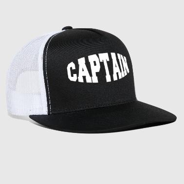captain - Trucker Cap