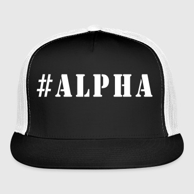 #Alpha - Trucker Cap