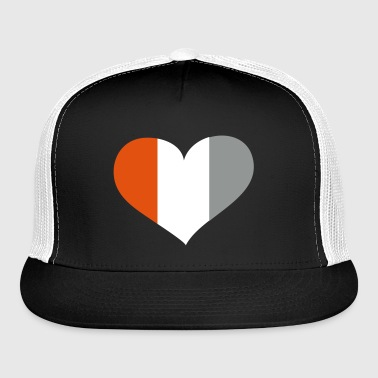 Ivory Coast Heart; Love Ivory Coast - Trucker Cap