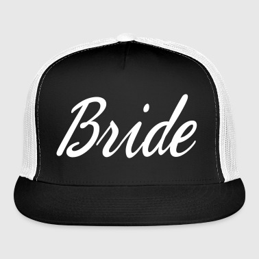 Cute Bride Script design - Trucker Cap