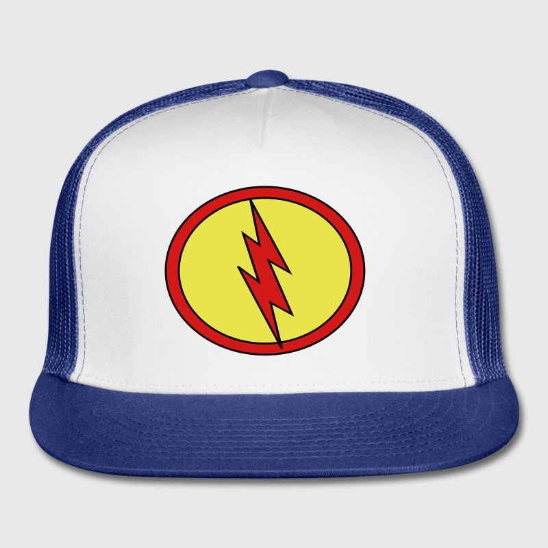 Super, Hero, Heroine, Super Flash - Trucker Cap