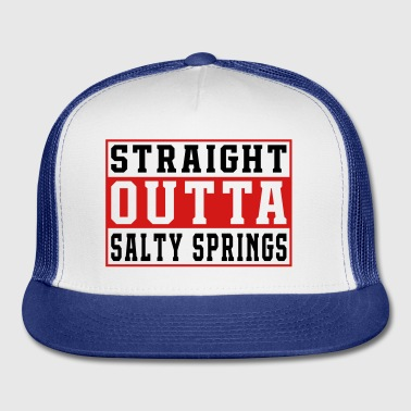 Straight Outta Salty Springs Game - Trucker Cap