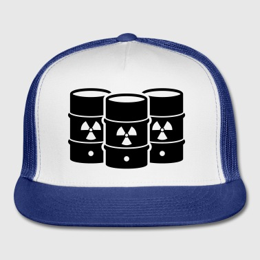 Nuclear waste - say no! - Trucker Cap