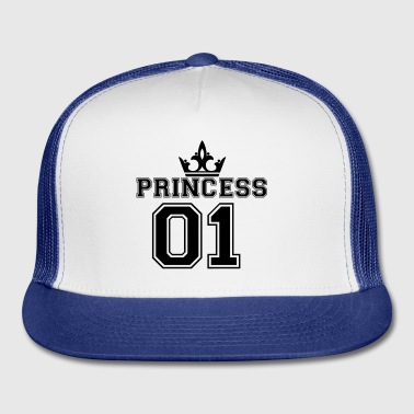 Princess_with_crown_01 - Trucker Cap