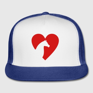 I love Horses - Trucker Cap