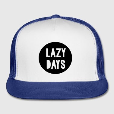 Lazy Days Kids Baby Toddler - Trucker Cap