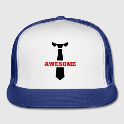 Tie awesome - Trucker Cap