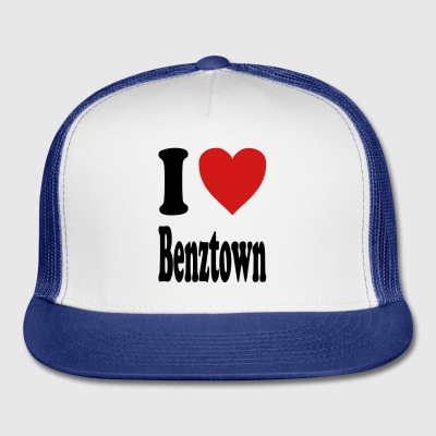 I love Benztown / Stuttgart (variable colors!) - Trucker Cap
