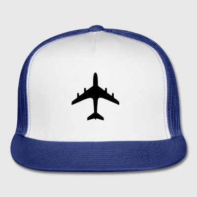 traffic signs - airport - Trucker Cap