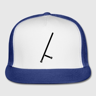 Police stick - club - weapon - Trucker Cap