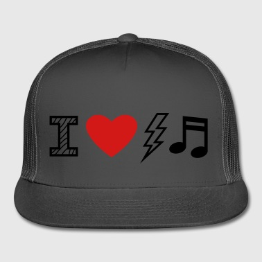 I Love Electro Music - Trucker Cap