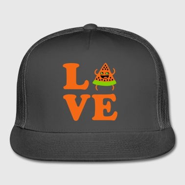 ❤Love Watermelon-Best Hot Summer Fruit❤ - Trucker Cap