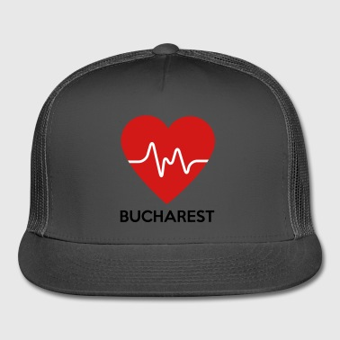 Heart Bucharest - Trucker Cap