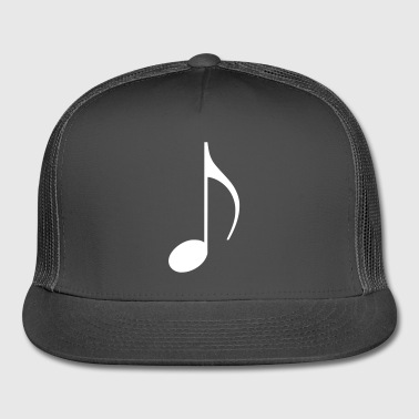 musical note - Trucker Cap