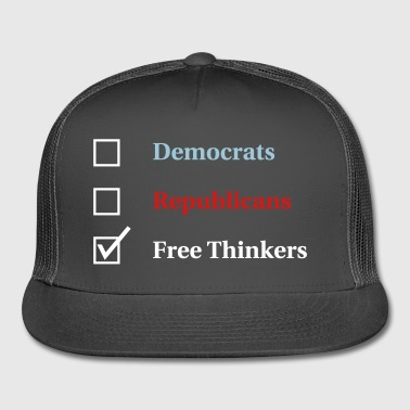 Election Ballot Free Thinkers - Trucker Cap