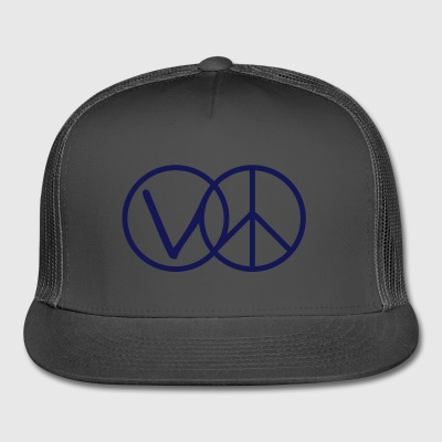 Veganism Is Peace - Trucker Cap