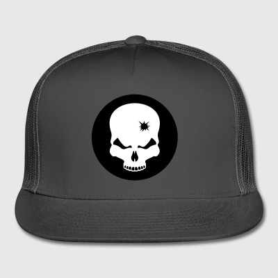 skull - death - head - Trucker Cap