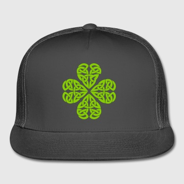Celtic Shamrock Green 01 - Trucker Cap