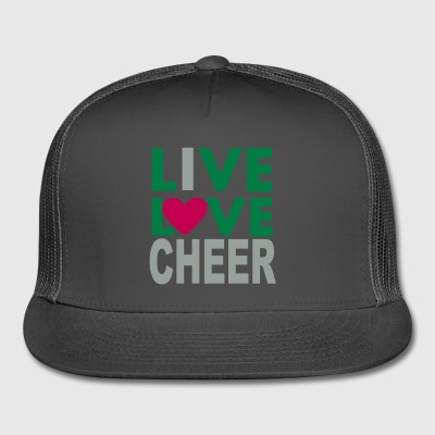 Live Love Cheer - Trucker Cap