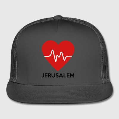 Heart Jerusalem - Trucker Cap