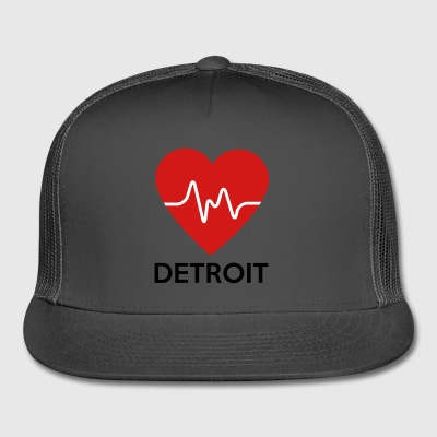 Heart Detroit - Trucker Cap