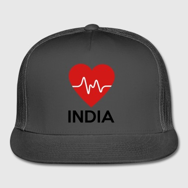Heart India - Trucker Cap