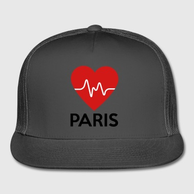 Heart Paris - Trucker Cap