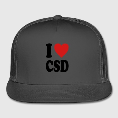 I love CSD (variable colors!) - Trucker Cap