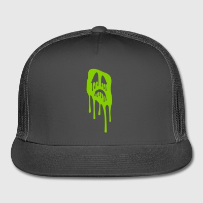 slimy grimace - halloween - Trucker Cap