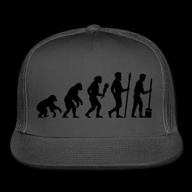 evolution marriage - Trucker Cap