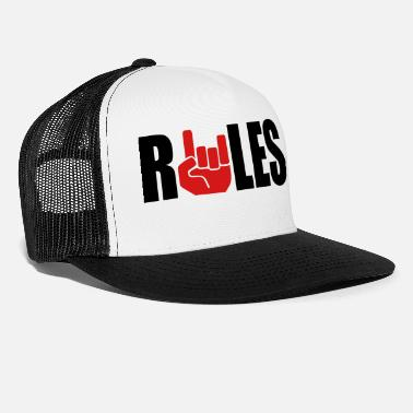 Rule Rules - Trucker Cap