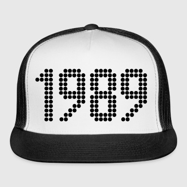 1989, Numbers, Year, Year Of Birth - Trucker Cap