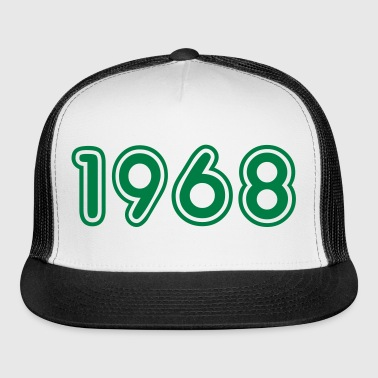 1968, Numbers, Year, Year Of Birth - Trucker Cap