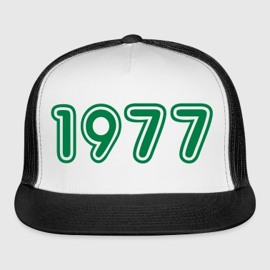 1977, Numbers, Year, Year Of Birth - Trucker Cap