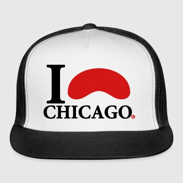 I Love Chicago Cloud Gate - Trucker Cap